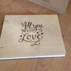 Βιβλίο Ευχών All you need is love