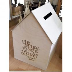 Κουτί Γάμου Σπιτάκι