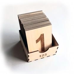 Πλάκες αφής Αριθμών (0-20)