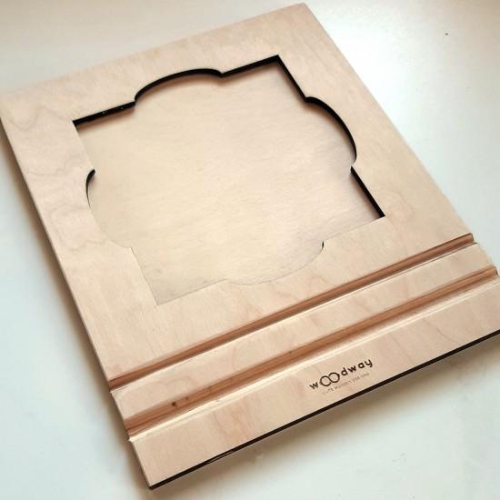 Ξύλινο Ταμπλό για  Ένθετα Γραφής